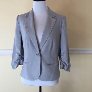 LC Lauren Conrad blazer. Size 10 Silver/gray color